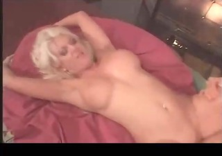 Horny blond MILF nailed
