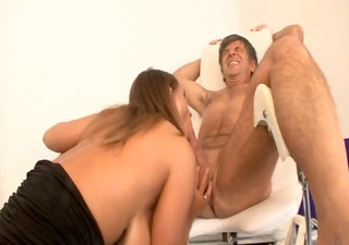 hot german lady with huge love muffins takes it