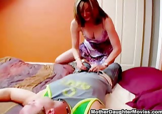 Daughter Learns BJ From Mother