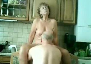Stolen video of my gorgeous mom having fun with