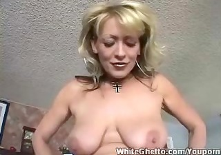 white ghetto - breasty mature love his dong
