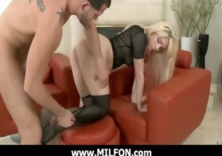 Gorgeous milf getting nailed by horny hunter 12