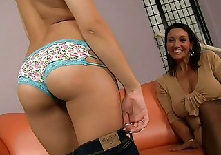 hot strip show from hot mom and her daughter