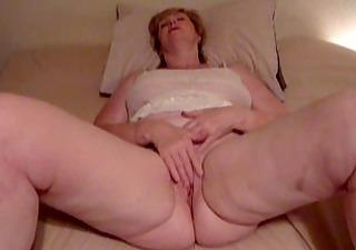my sexy milf playing